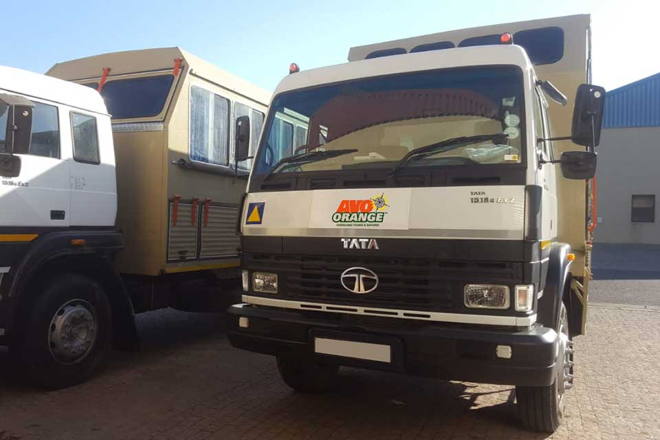 Namwala: 24 seat overlander