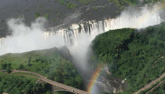 Johannesburg to Victoria Falls